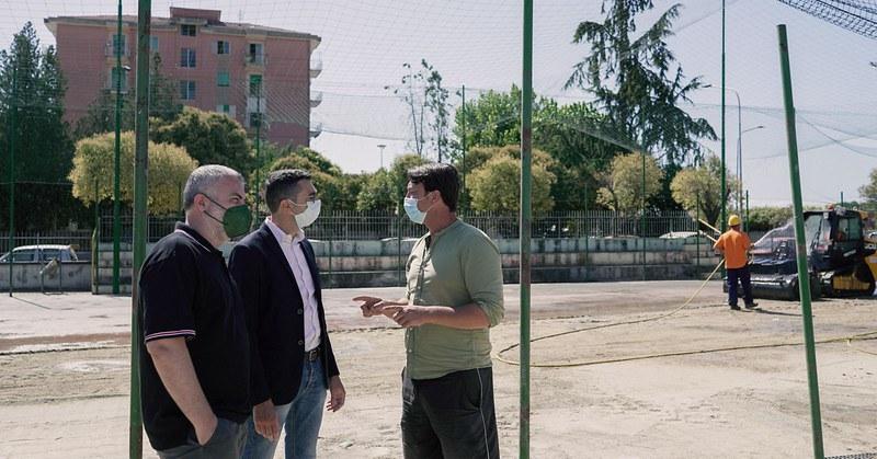 Pontecagnano, riqualificazione impianti sportivi di via Toscana