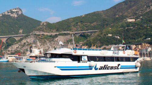Dal 1 agosto Salerno, costiera Amalfitana, Capri, Ischia e Procida in una sola corsa