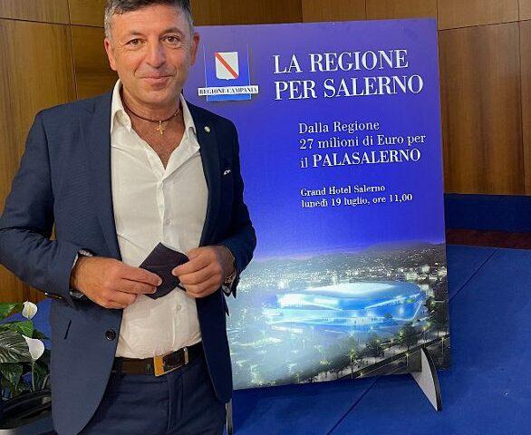 """Progetto PalaSalerno, Caramanno: """"Lo sport al centro della ripartenza di Salerno per garantire un futuro migliore alla città"""""""