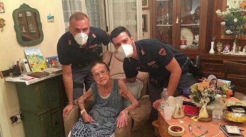 Salerno, anziana cade in casa: aiutata dai poliziotti