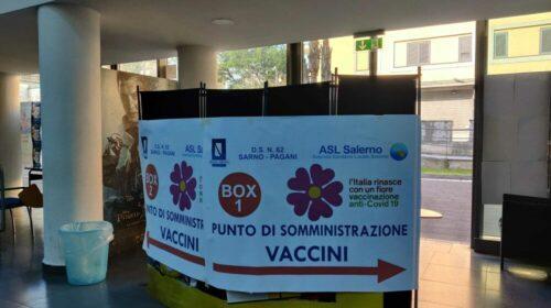 Pagani, la Protezione civile lascia il centro vaccinale
