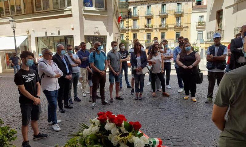 Salerno, in Velia il ricordo di Carlo Falvella ucciso 49 anni fa