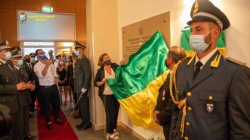 Guardia di Finanza, tenenza ad Amalfi intitolata a Daniele Zoccola