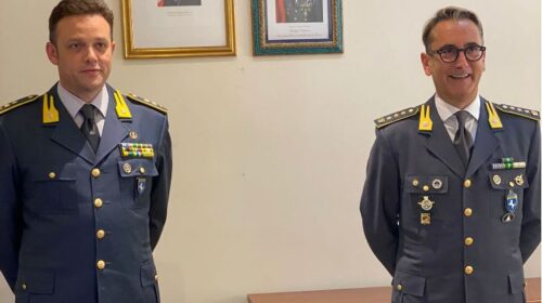 Salerno, cambio al vertice della Guardia di Finanza: Molinari al posto di Bua