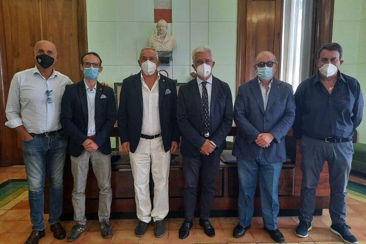 Salernitani Doc all'incontro con sindaco Napoli e assessore Savastano