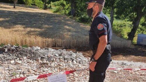 Sequestrata area a San Gregorio Magno adibita a discarica
