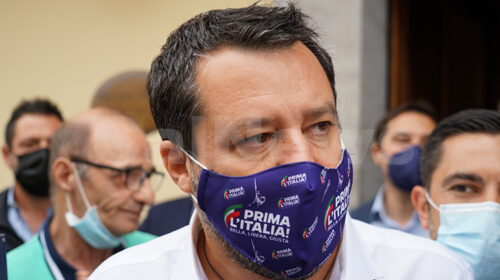 "Salvini da Maratea: ""Mascherine, De Luca non ama la sua gente"""