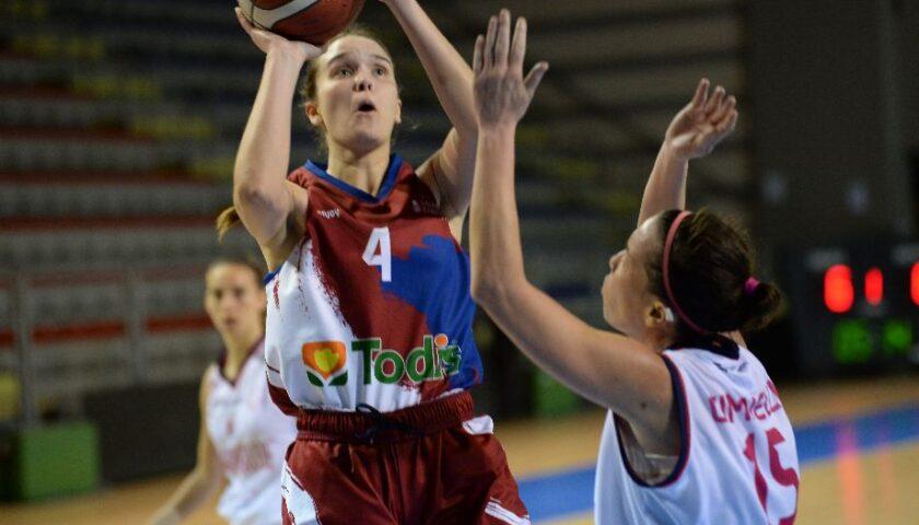 Il capitano c'è: Camilla Valerio rinnova col Salerno Basket '92