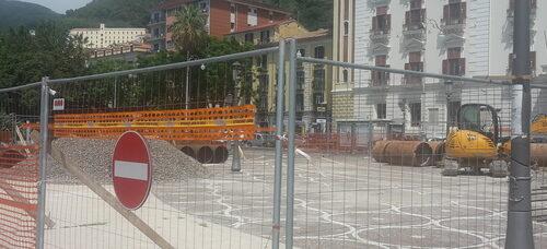 """Salerno, Cammarota: """"Cantiere di piazza Cavour fermo"""""""