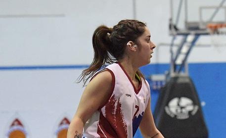 Alessia De Mitri, un altro anno al Salerno Basket