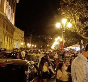 Festa Italia a Salerno e provincia. Due feriti a Polla