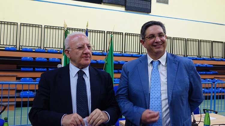 Umberto I, il sindaco di Nocera incontra De Luca e Iervolino: emergenza a una svolta