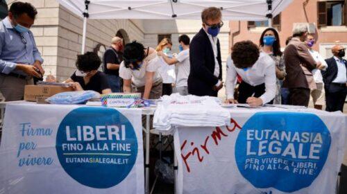 A Battipaglia al via la campagna di raccolta firme per la campagna Referendum Eutanasia Legale