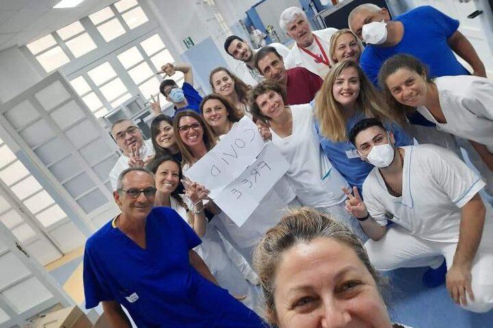 Salerno, l'ospedale Da Procida è covid free