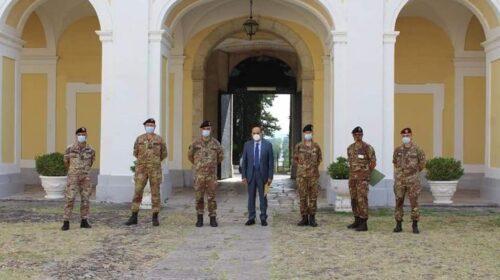 Carenza sangue al Ruggi di Salerno:  stipulato protocollo d' intesa tra la Caserma Ronga di Persano e l'ospedale