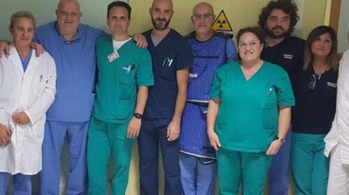 Eccezionale intervento nel reparto di endoscopia digestiva dell' ospedale Fucito di Mercato San Severino diretta dal dottore Attilio Maurano