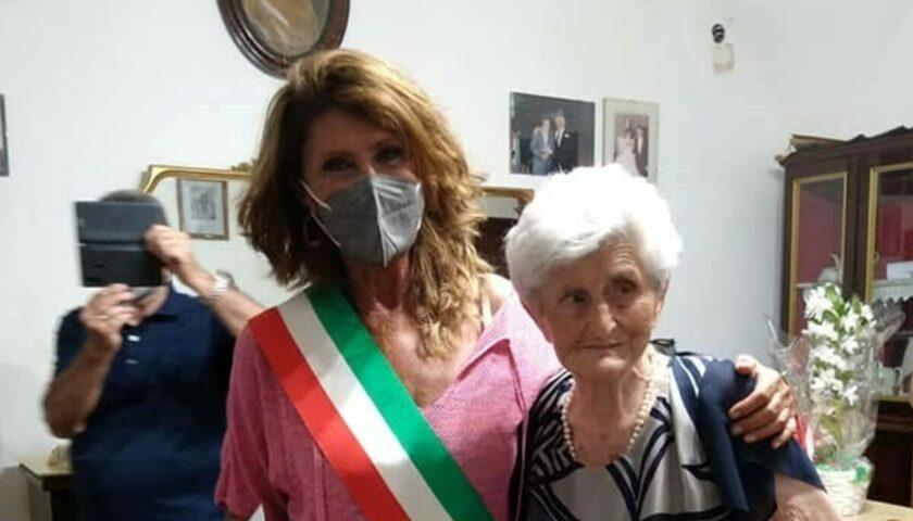 Castellabate festeggia la centenaria Filomena Piccirillo