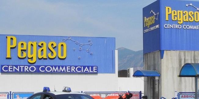 Pagani, fallito il centro commerciale Pegaso
