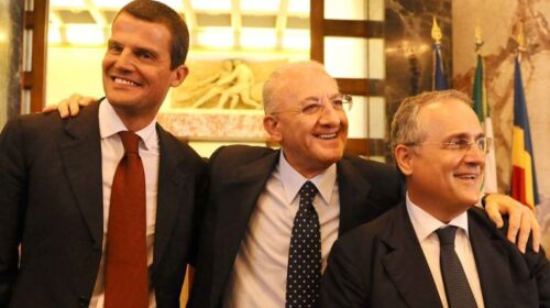 "Salernitana, De Luca: ""Sono preoccupato"""