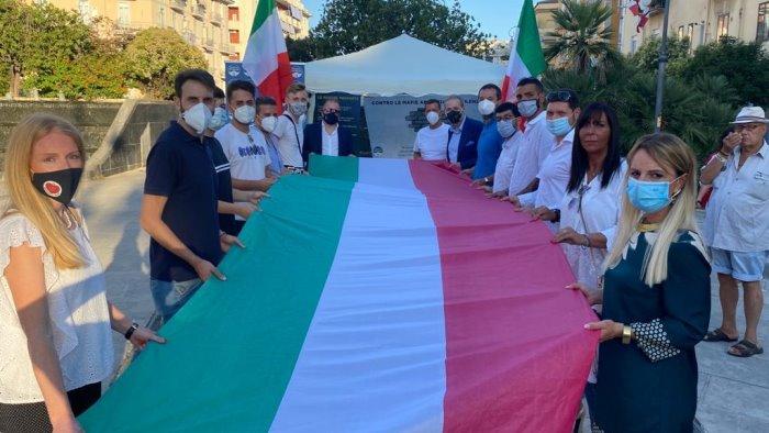 Fratelli d'Italia in piazza contro le mafie