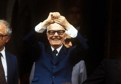 Il 7 luglio del 1978 Sandro Pertini eletto al Quirinale