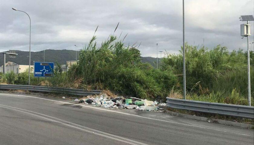 Accordo Anas/Salerno Pulita: sgombero rifiuti da tangenziale e Aversana