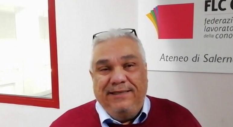 Salerno, atto intimidatorio contro il segretario generale della Cgil Arturo Sessa