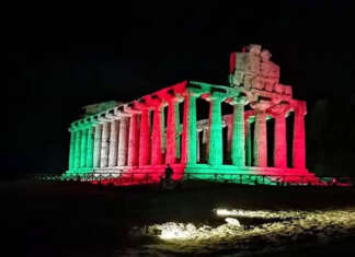 Vittoria Italia a Londra, l'omaggio del Parco Archeologico Paestum/Velia