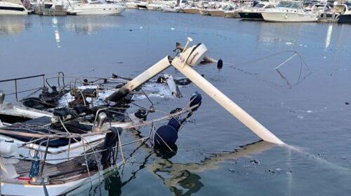 Si incendia barca, 29enne muore nel porto di Castellammare di Stabia