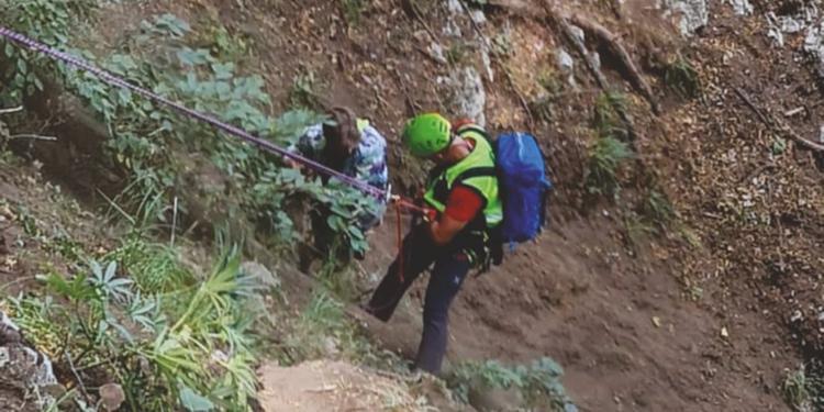 Amalfi, turista escursionista danese salvato dal soccorso alpino