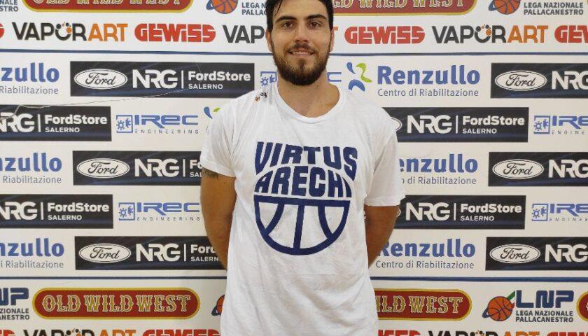 Andrea Valentini il nuovo capitano della Virtus Arechi