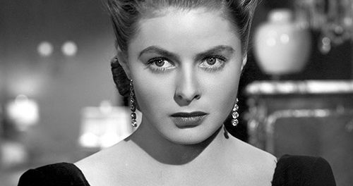 Il 29 agosto 1982 muore a Londra Ingrid Bergman