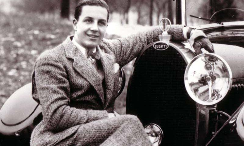 Il 21 agosto 1947 muore in Francia il fondatore della casa automobilistica Bugatti