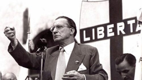 Il 19 agosto del 1954 muore Alcide De Gasperi, primo premier della Repubblica italiana