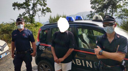 Escursionista si stacca dagli amici, ritrovato dai carabinieri a Chiancolelle in territorio di Tramonti