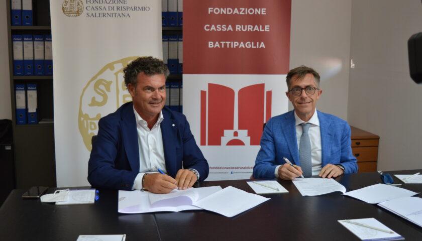 Protocollo d'intesa tra Fondazioni Casse Rurali di Salerno e Battipaglia
