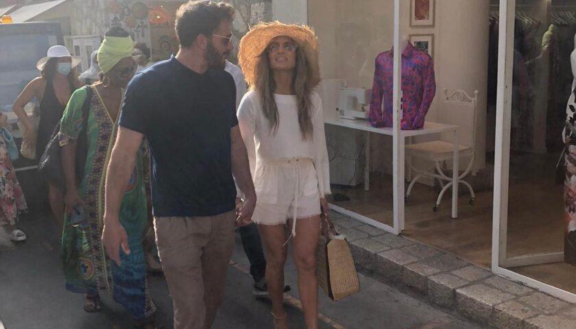 """Jennifer Lopez a Capri, De Luca: """"La considero patrimonio dell'umanità"""""""