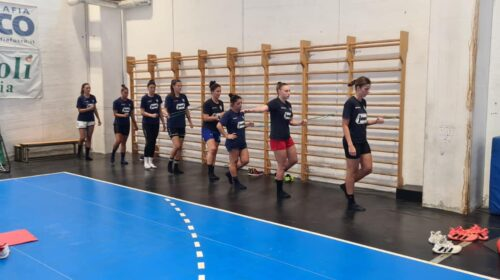 """La Jomi Salerno continua a sudare per preparare al meglio i primi impegni ufficiali. Coach Avram: """"Contenta delle risposte del gruppo"""""""