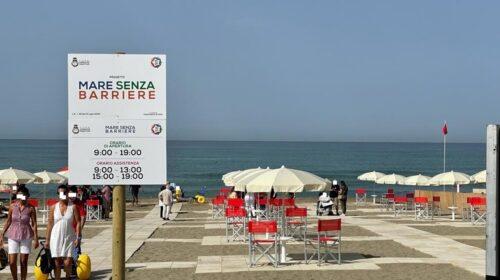"""Furto vergogna a Paestum, rubati i lettini prendisole dei disabili nella """"spiaggia senza barriere"""""""