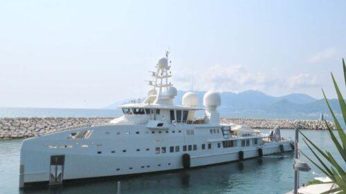 La flotta dell'Emiro Padre del Qatar ospite a Marina d'Arechi di Salerno