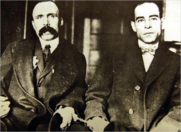 Il 23 agosto 1927 in America vengono giustiziati gli italiani Sacco e Vanzetti