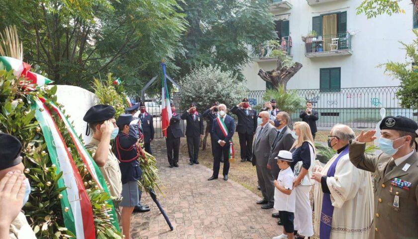 Salerno ricorda le vittime del terrorismo di Torrione