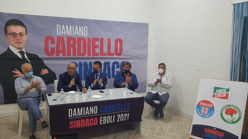 Amministrative Eboli, Fasano (FI): «Con Cardiello il vero cambiamento»