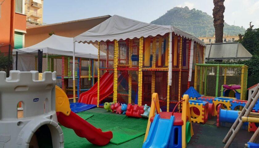 Cava de' Tirreni, sequestrato parco giochi a Corso Umberto I