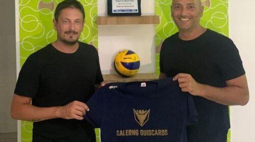 Polisportiva Salerno Guiscards, Paolo Cacace è il nuovo allenatore del team volley