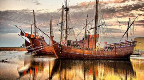 Dove tutto ebbe inizio: il 3 agosto del 1492 Colombo salpa da Palos per le Americhe
