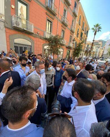 """Salerno, Conte (Leu): """"Visita Giuseppe Conte per costruire dibattito e nuova prospettiva"""""""
