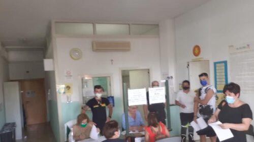 Camerota, 400 vaccini inoculati a turisti e residenti al porto