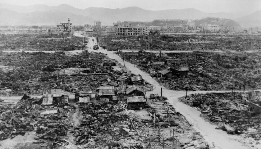 Il 9 agosto 1945 bomba atomica sulla città di Nagasaki