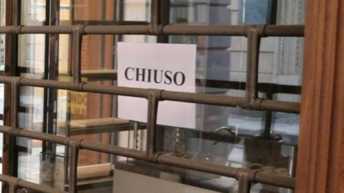 Salerno, il 26,8% ha dovuto chiudere definitivamente le attività lavorative